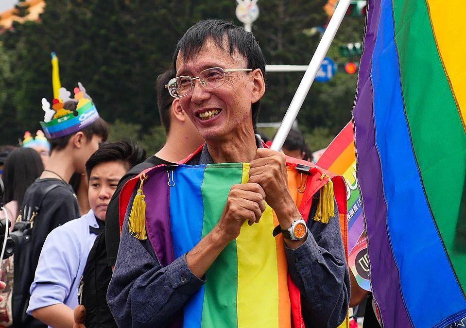 Foto van LGBTI activist Chi Chia-wei (Taiwan) -(c) foto: Kokuyo