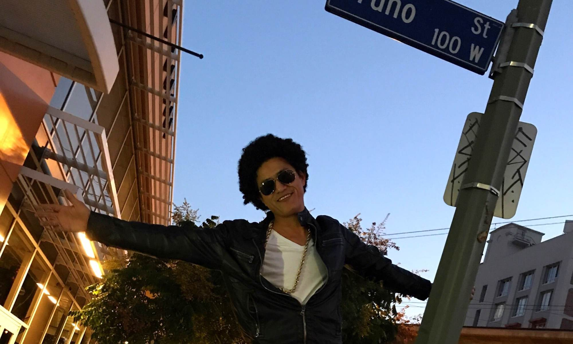 Bruno Mars Impersonator Los Angeles