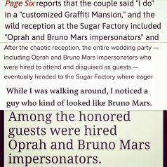 Bruno Mars Look Alike And Impersonator Media Mentions