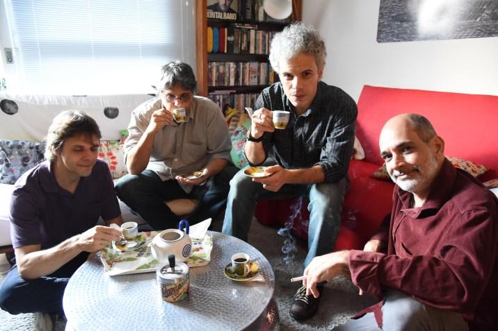 Notre Jam jazz quartet photo: Ana Migliari