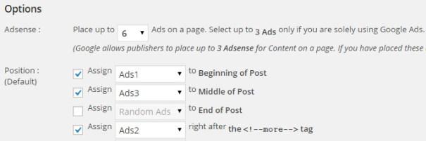 Configuración de Quick Adsense