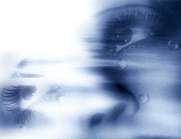 "« Regarde-moi » Photomontage d'après Man Ray ""Tears"", 1933"