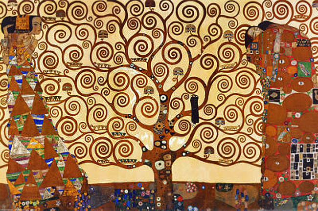Klimt_Arbre de vie_3