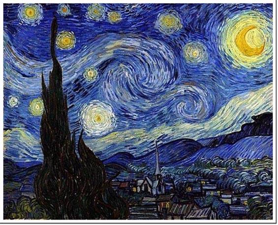 Van Gogh La_nuit_étoilée