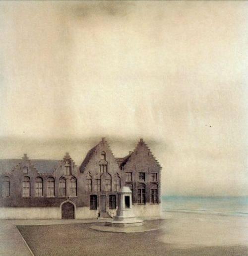 Fernand Khnopff_Une ville abandonnée_1904-2
