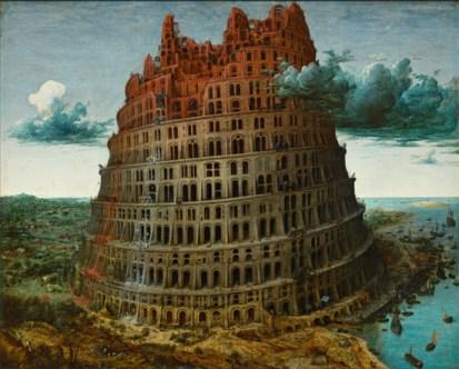 Bruegel_Tour de Babel - Museum Boijmans Van Beuningen_3