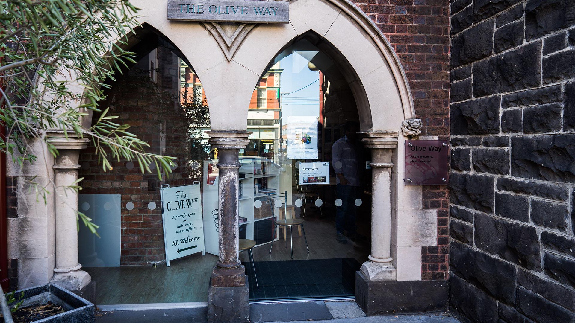 Olive Way Entrance