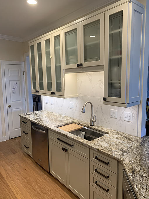 Kitchen Cabinet and Countertop Remodel by Designer Chris Gibson