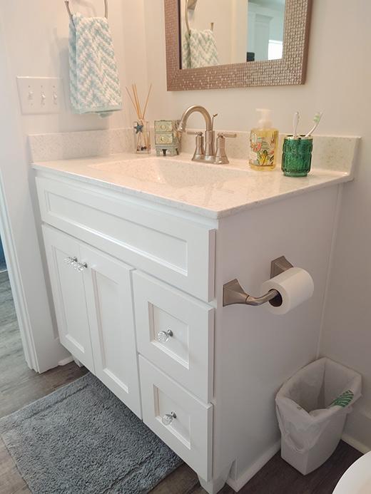 Cultured Marble Bath Countertops