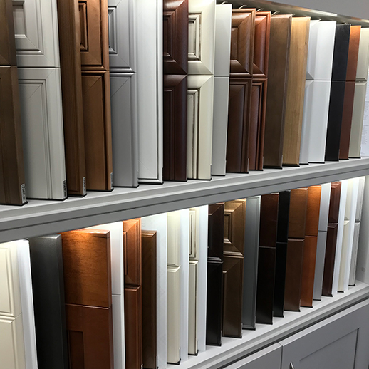 Cabinet Styles in Design Showroom