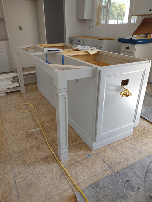 Kitchen Island in Supply NC