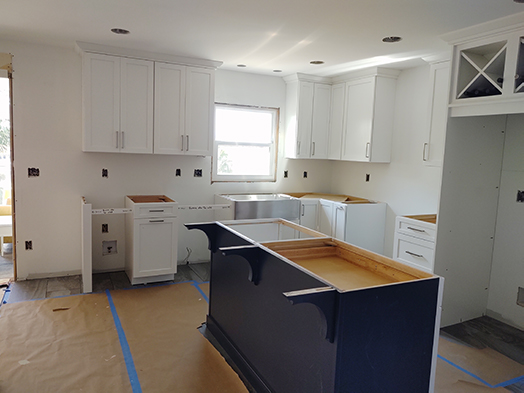 Cabinet Project Installation