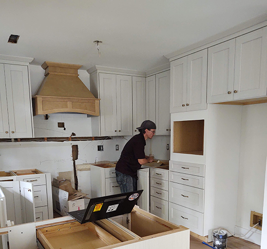 Professional Cabinet Installation by Brunswick Cabinets and Countertops