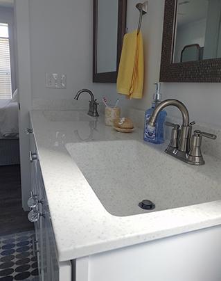 Ocean Isle Beach New Construction Bathroom Project