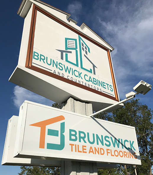 Brunswick Cabinets and Countertops and Brunswick Tile and Flooring in Supply