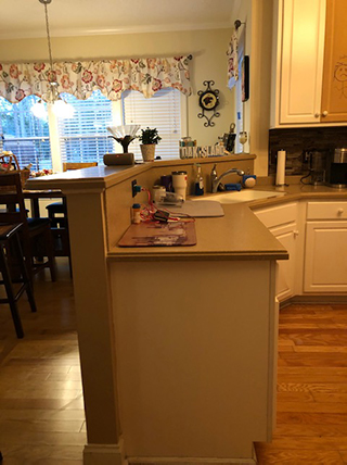 Boiling Spring Lakes Home Kitchen Remodel