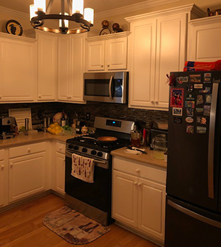 Before Remodel in Boiling Spring Lakes