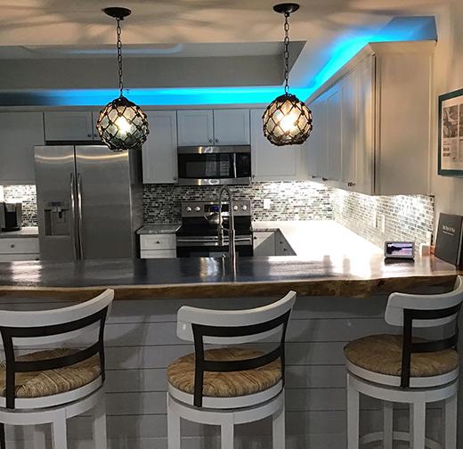 Coastal Kitchen by Dj's Interior Design