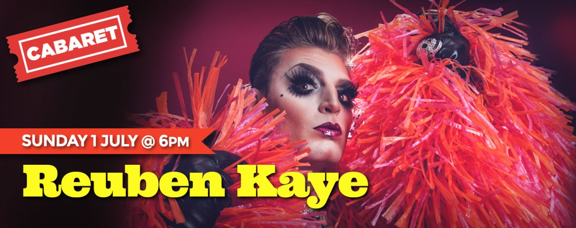 Reuben Kaye: Sun 1 July @ 6pm