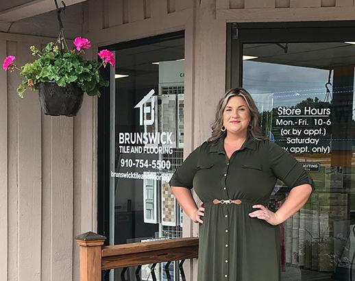 Brunswick Tile and Flooring Design Specialist Lauren Suggs
