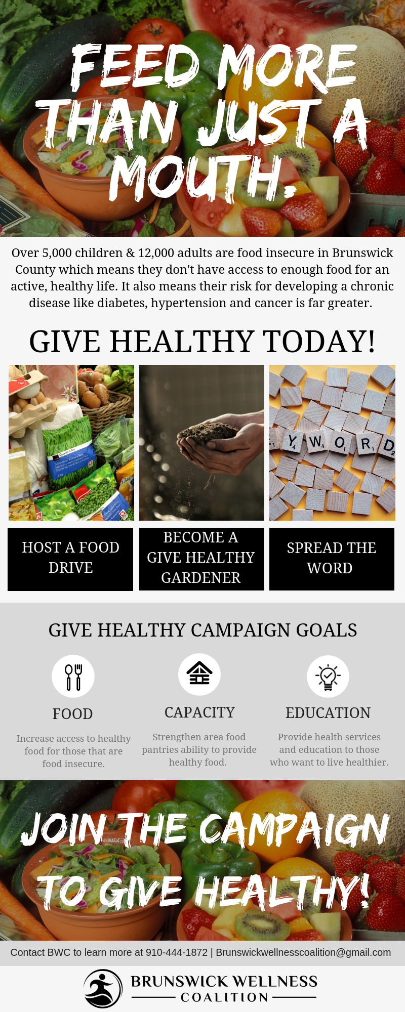 Give Healthy Infographic