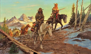 mountain man horses