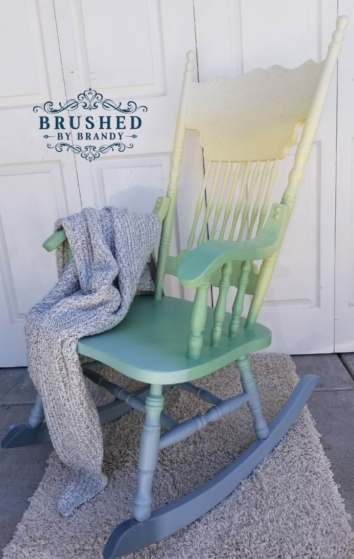 Color Blending on a Relaxing Rocker
