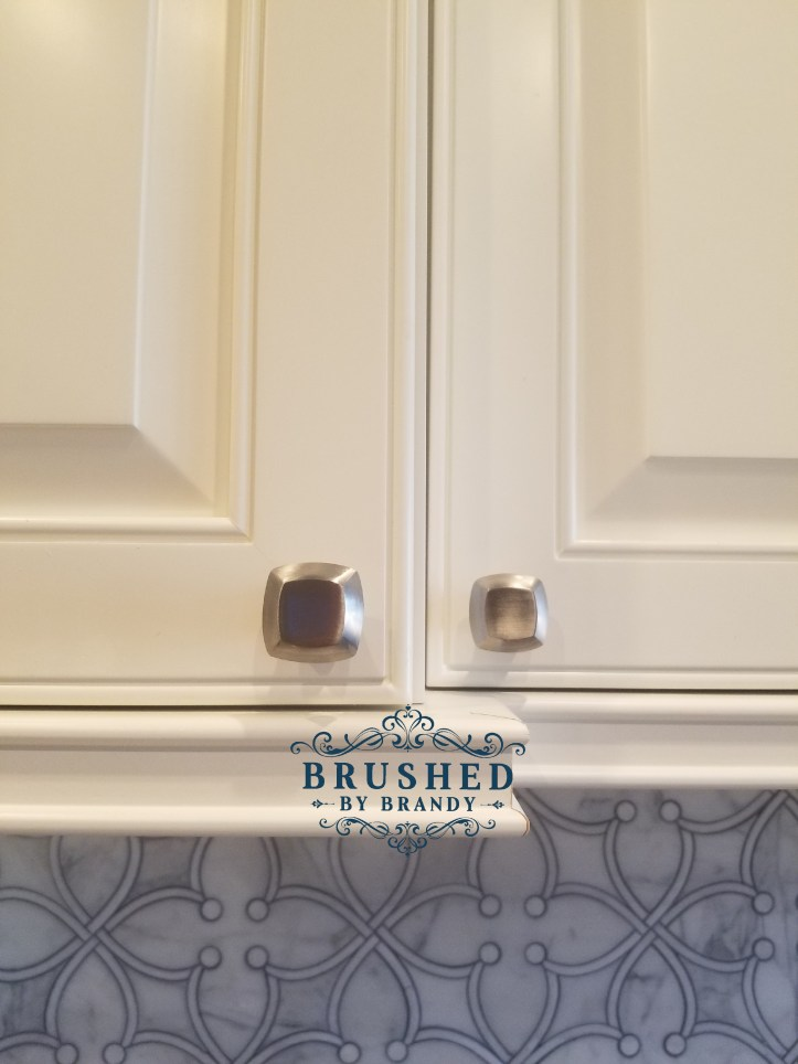 Cabinets Full Kitchen Remodel with DIY Painted Range Hood