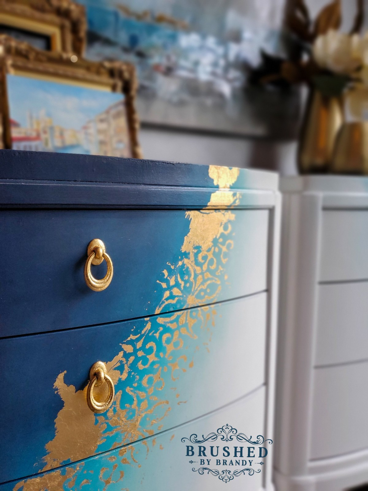 Blended Paint Finish Selecting The Best Brush For Your Furniture Painting Project