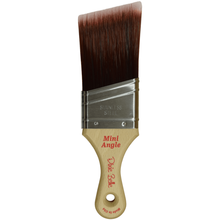 Mini Angled Brush Selecting The Best Brush For Your Furniture Painting Project