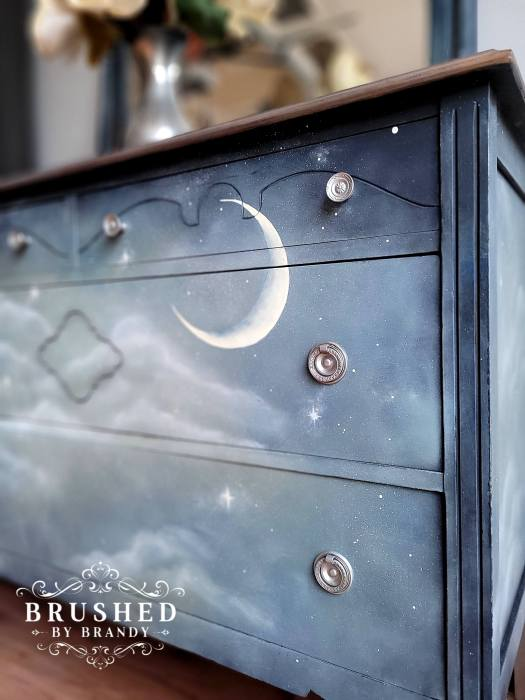 Moon and Stars Dreamy Dresser Do-Over