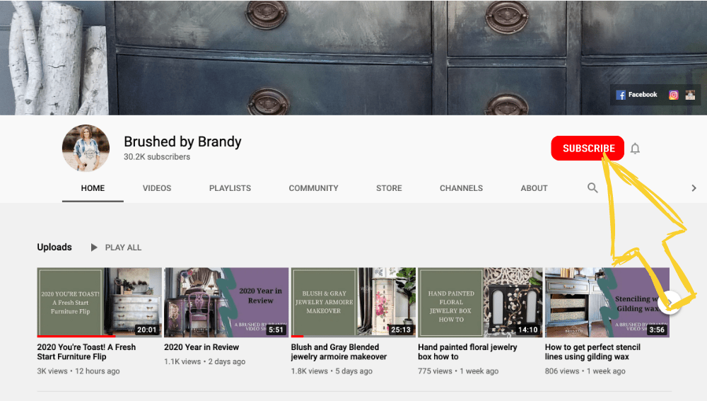 Subscribe to Brushed by Brandy on Youtube