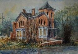 Watercolor 30 x 40 cm / 11.8`` x 15.7`` - Carsten Wieland, 2015