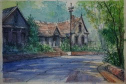 Aquarell / Watercolor - Daler Rowney Grain Fin - 2015, Carsten Wieland