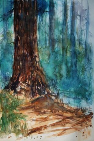 205_2016 Watercolor-Sketches /Daler-Rowney Graduate Sketchbook, 21,0 x 14,9 cm / 8.3 x 5.8 in