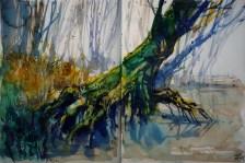 208_2016 Watercolor-Sketches /Daler-Rowney Graduate Sketchbook, 2 x 21,0 x 14,9 cm / 2x 8.3 x 5.8 in //
