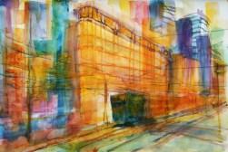 229_2016 Watercolor-Sketches /Daler-Rowney Graduate Sketchbook, 21,0 x 14,9 cm / 8.3 x 5.8 in / Lukas Aquarell 1862 /