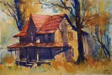 277_2016 Watercolor-Sketches /Marabu Mixed Media 21,0 x 14,8 cm / 8.3 x 5.8 in / Lukas Aquarell 1862