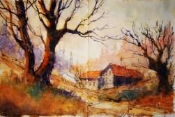 281_2016 Watercolor-Sketches /Daler-Rowney Graduate Sketchbook, 2x 21,0 x 14,9 cm / 8.3 x 5.8 in / Lukas Aquarell 1862