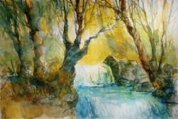 283_2016 Watercolor-Sketches /Daler-Rowney Graduate Sketchbook, 2x 21,0 x 14,9 cm / 8.3 x 5.8 in / Lukas Aquarell 1862