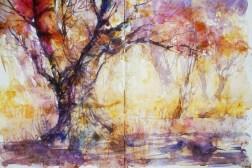285_2016 Watercolor-Sketches /Daler-Rowney Graduate Sketchbook, 2x 21,0 x 14,9 cm / 8.3 x 5.8 in / Lukas Aquarell 1862