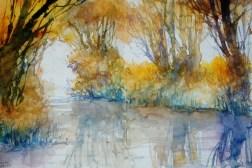 287_2016 Watercolor-Sketches /Daler-Rowney Graduate Sketchbook, 2x 21,0 x 14,9 cm / 8.3 x 5.8 in / Lukas Aquarell 1862