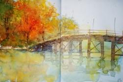 304_2016 Watercolor-Sketches /Daler-Rowney Graduate Sketchbook, 2x 21,0 x 14,9 cm / 8.3 x 5.8 in / Lukas Aquarell 1862