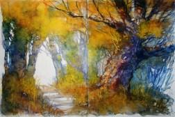 308_2016 Watercolor-Sketches /Daler-Rowney Graduate Sketchbook, 2x 21,0 x 14,9 cm / 8.3 x 5.8 in / Lukas Aquarell 1862