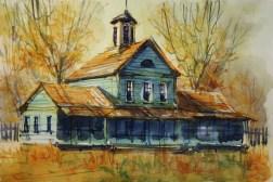 312_2016 Watercolor-Sketches /Marabu Mixed Media 21,0 x 14,8 cm / 8.3 x 5.8 in / Lukas Aquarell 1862