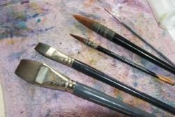 My brushes.