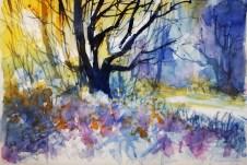 436_2016 Watercolor-Sketches /Daler-Rowney Graduate Sketchbook, 2x 21,0 x 14,9 cm / 8.3 x 5.8 in / Lukas Aquarell 1862
