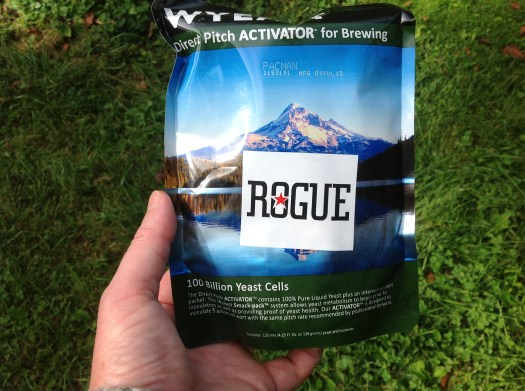 Rogue Pacman Wyeast smack pack