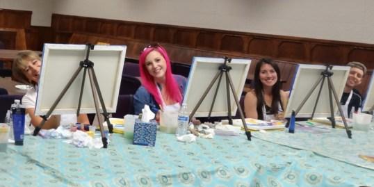 8-11 paint party