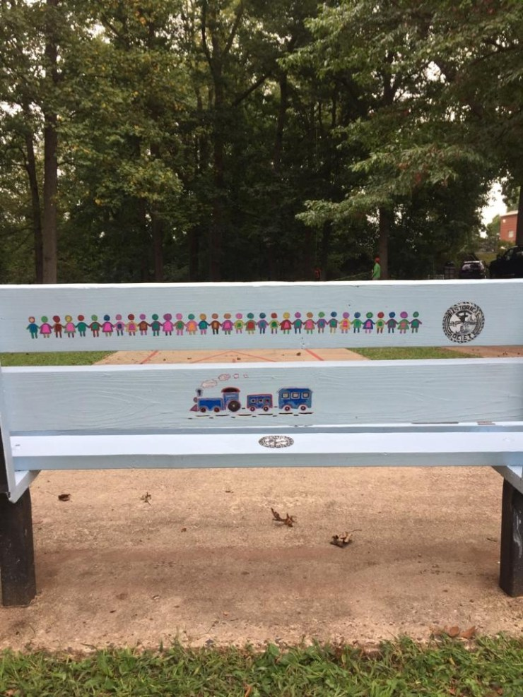 A bench where all people are welcome